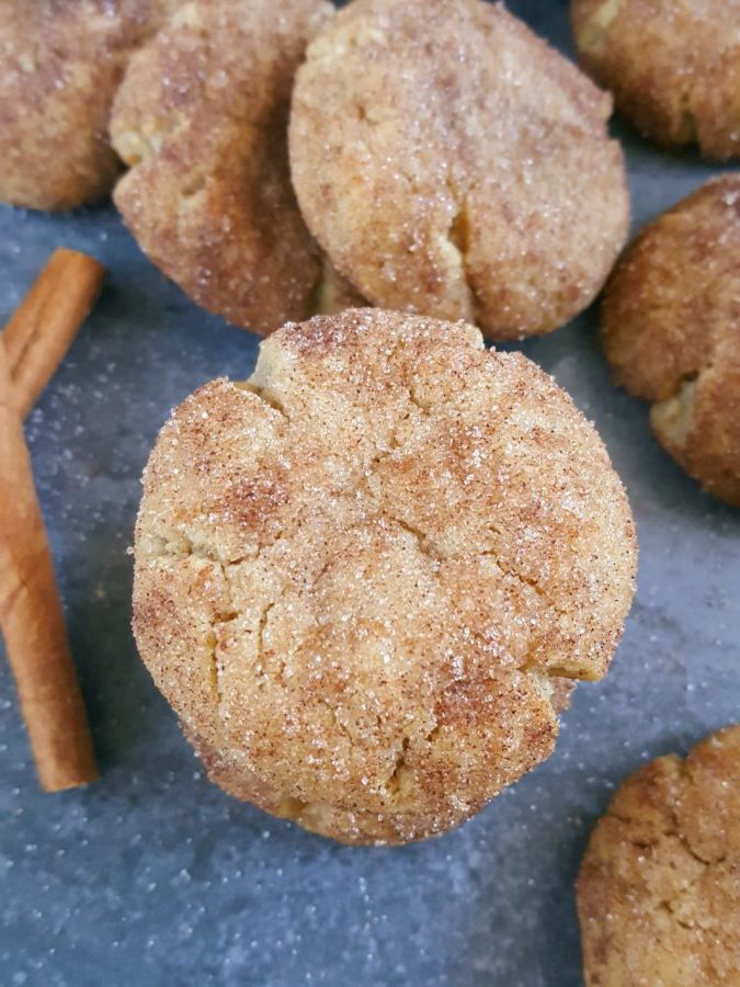 Snickerdoodle Cookies without Cream of Tartar - This easy recipe for soft and chewy snickerdoodle cookies requires no cream of tartar and no chilling and they're ready in less than 30 minutes. Full of cinnamon and perfect for Christmas!