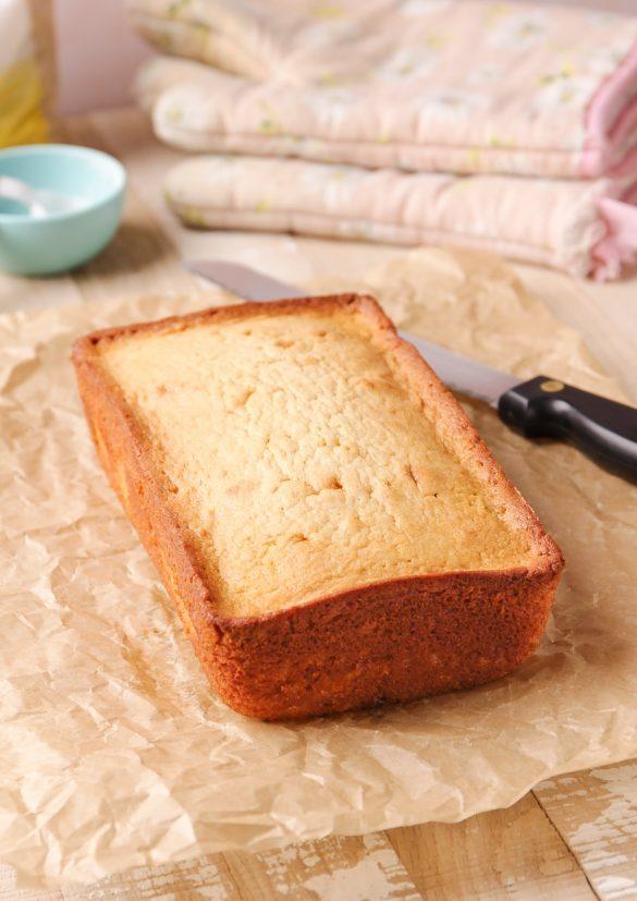 Loaf Pan Brown Sugar Buttermilk Pound Cake | Beat Bake Eat