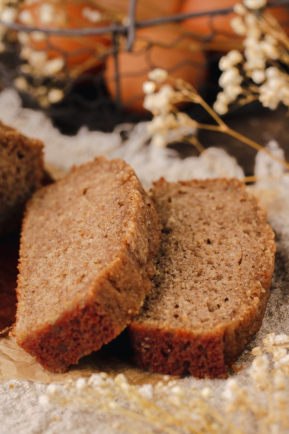 healthy quick bread with no white flour and no yeast
