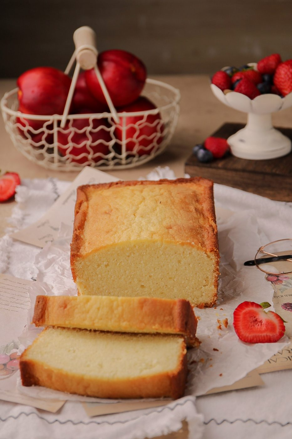 The Best Cream Cheese Pound Cake Loaf