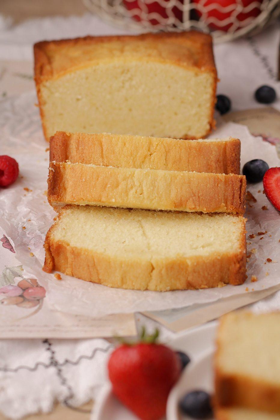 Bread Pan Cream Cheese Pound Cake | Beat Bake Eat