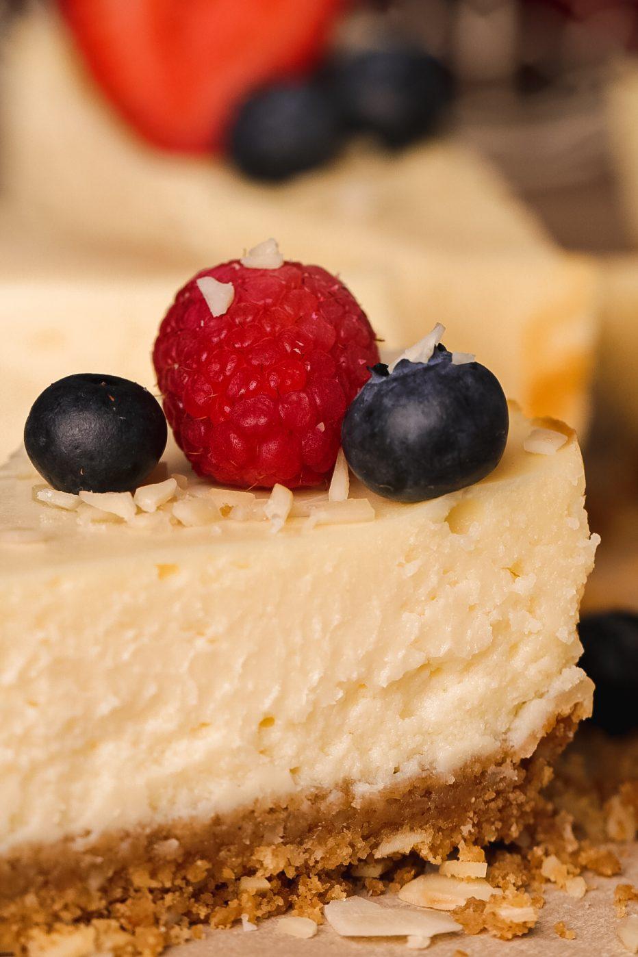 Small Almond Cheesecake | Beat Bake Eat